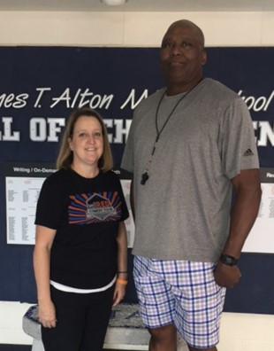 Darryl and Cyndi Murray, new JTA Girls Basketball Coaches