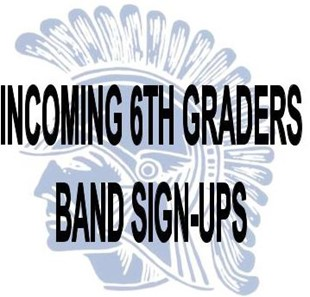 6th grade band sign up