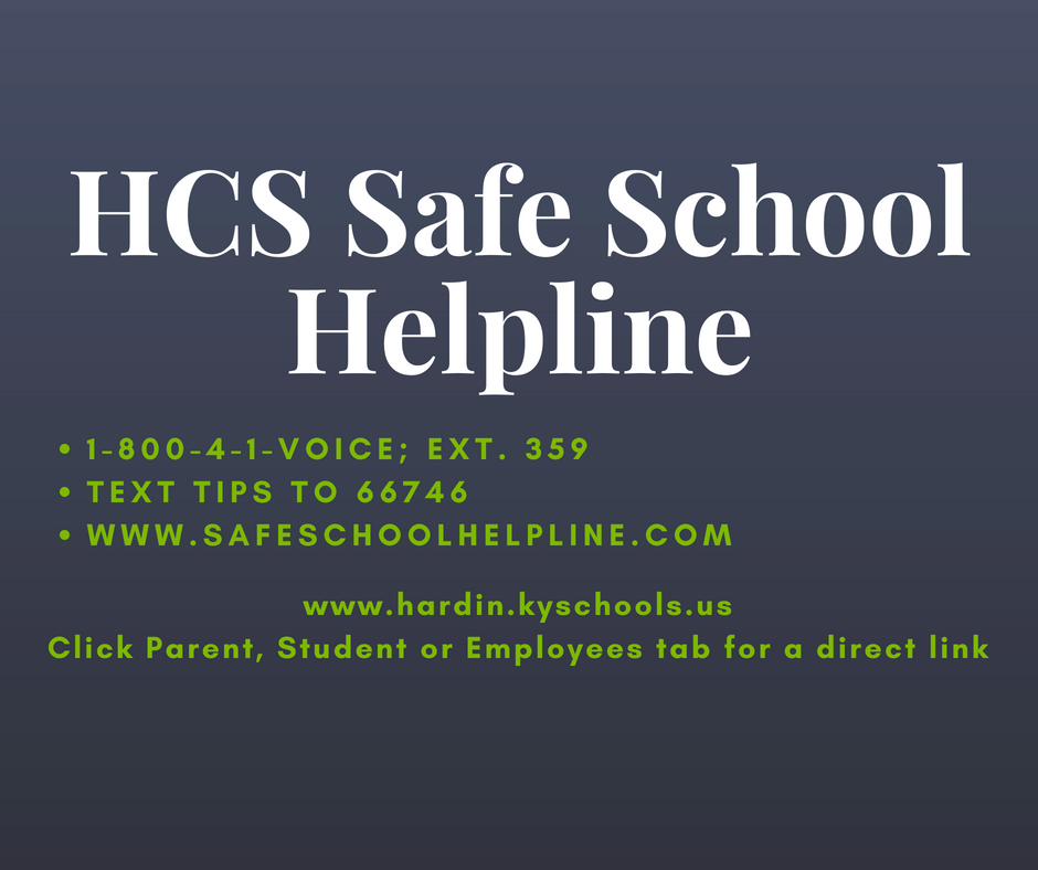 safe school helpline graphic