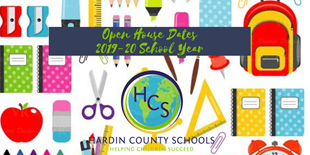open house dates 2019-20