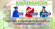 preschool and kindergarten registration date set for 2021-22