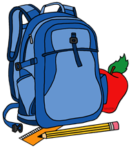 Backpack policy for 18-19 SY