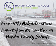 faq - winter weather procedures