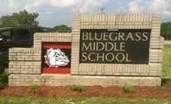 Bluegrass Middle School Entrance