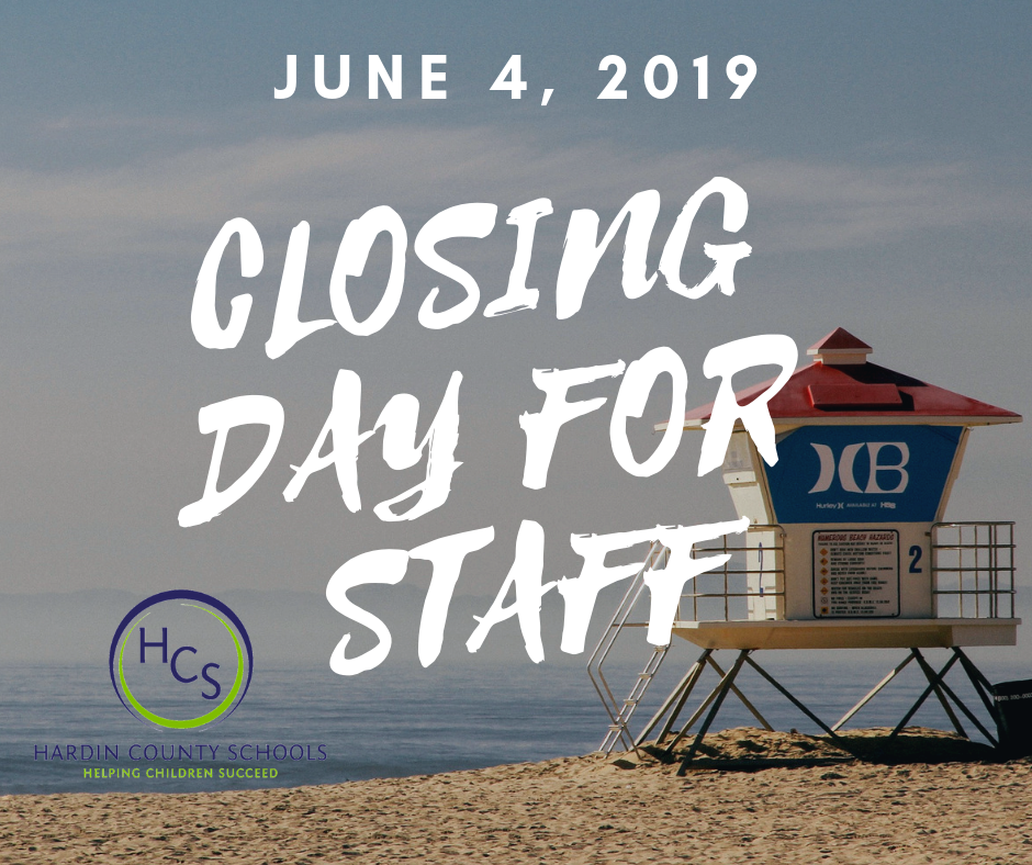 closing day for staff