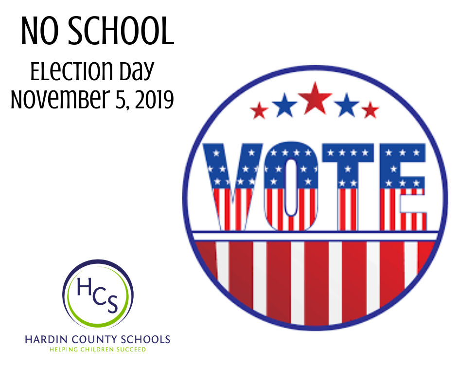 ELECTION DAY NOV 2019