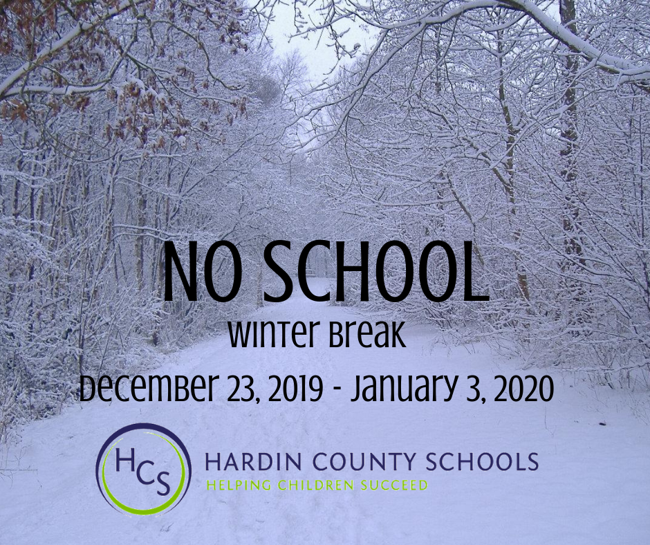 WINTER BREAK 2019