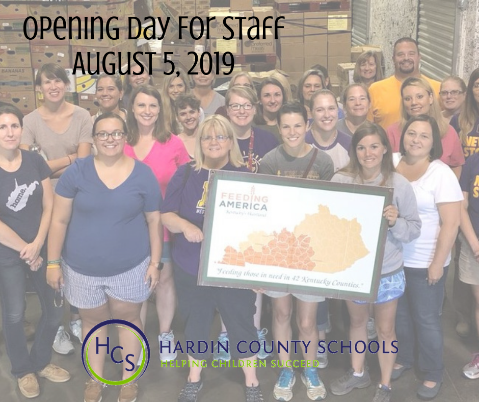 STAFF Opening day 2019