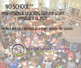 NO SCHOOL - PROFESSIONAL LEARNING DAY FOR STAFF - COULD BE USED AS MAKE UP DAY linked image