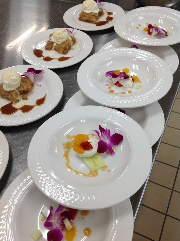 Culinary arts students prepare yummy treats
