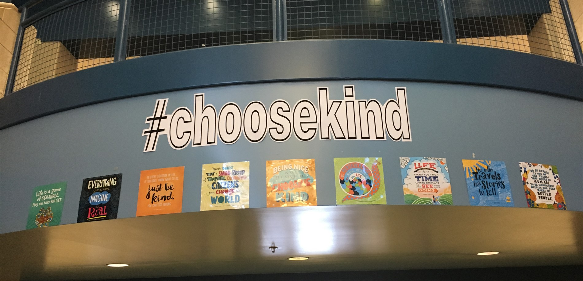 #choosekind  One School, One Book.  Wonder.