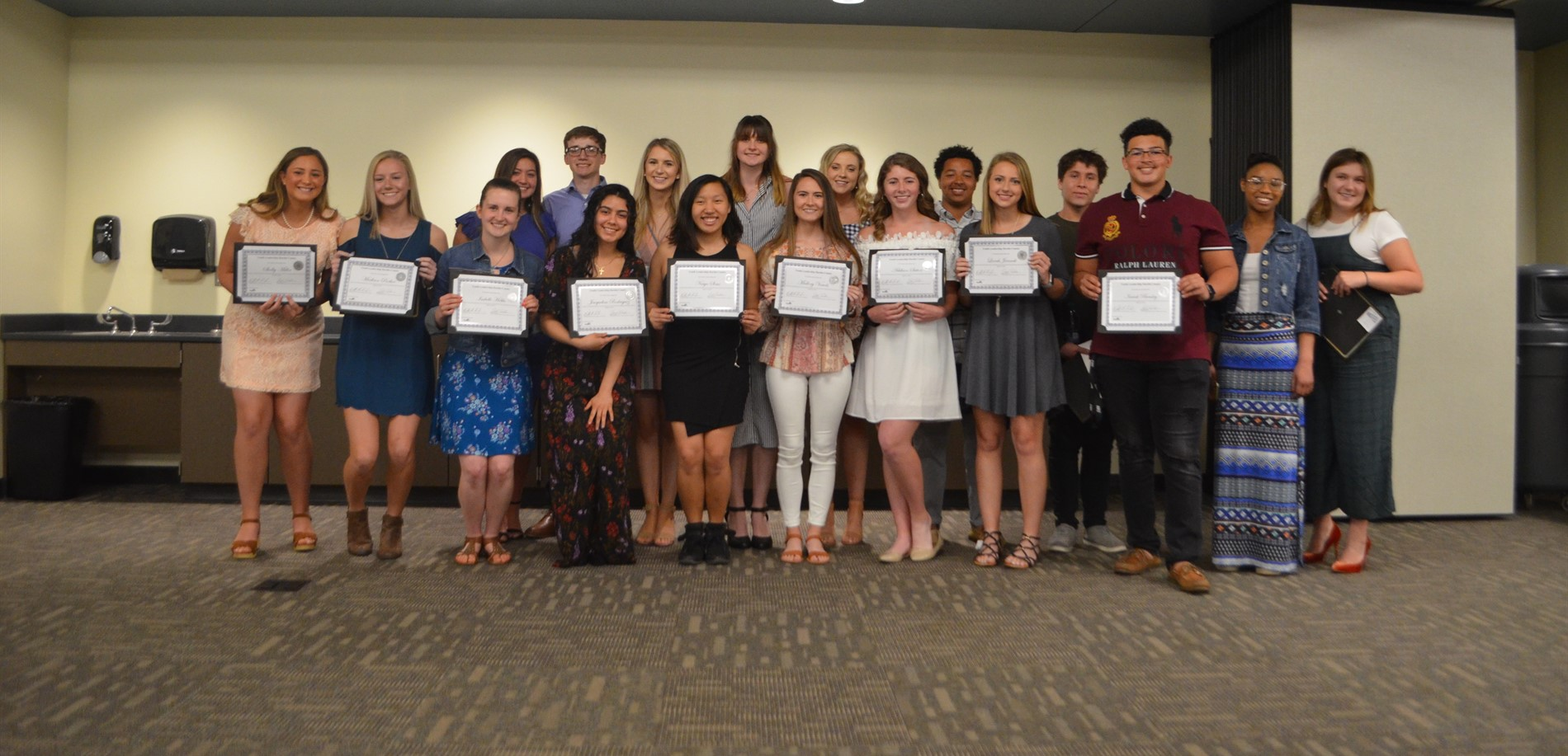 HCS students participated in the Hardin County Chamber of Commerce Youth Leadership Program.