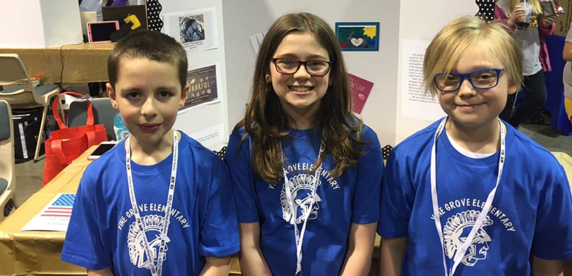 Vine Grove Elementary Schools participated in the state STLP competition.
