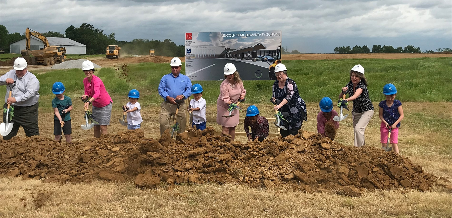 Lincoln Trail Elementary - New School Groundbreaking
