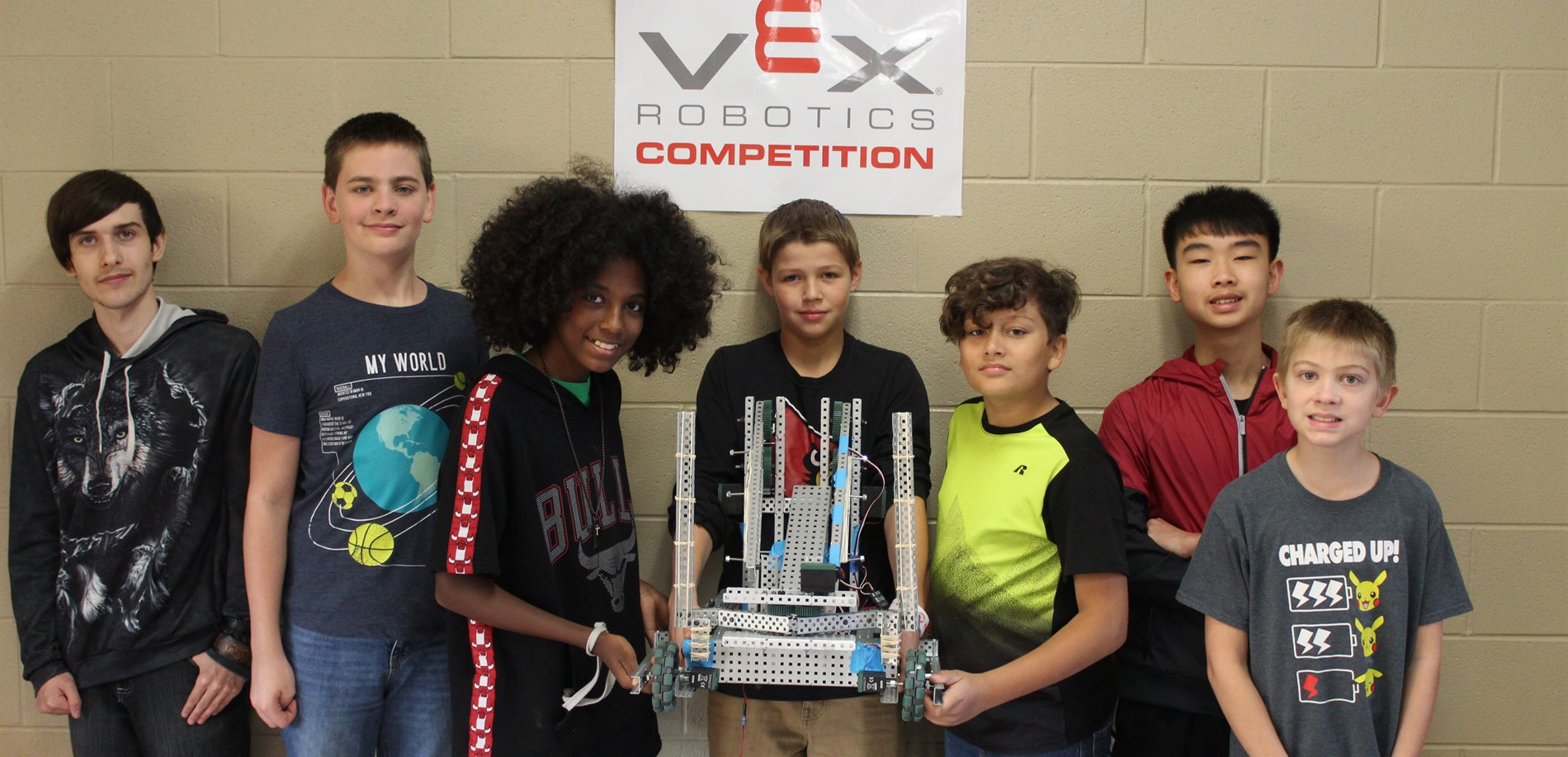 The SuperNova Superstars at the HCS Lego Robotics Competition