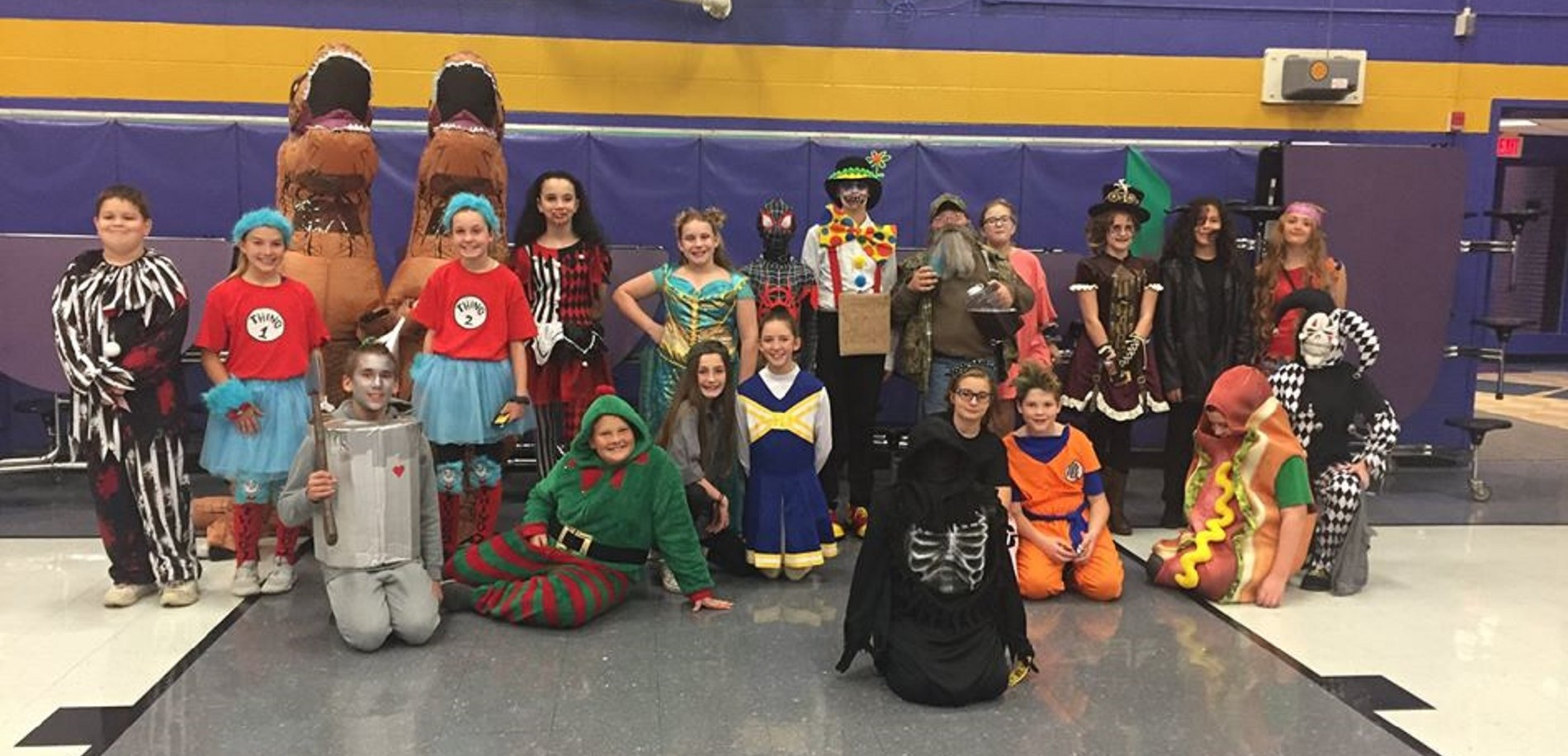 Students Show Off Their Costumes at the WHMS
