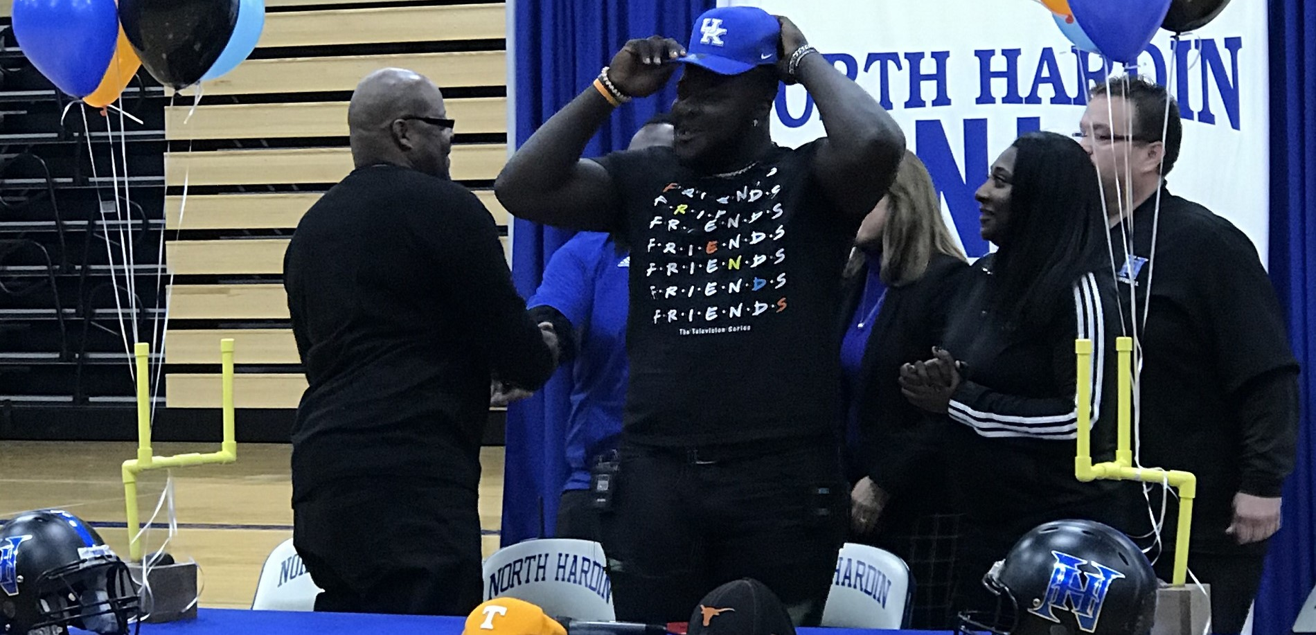 Octavious Oxendine will play football for UK!