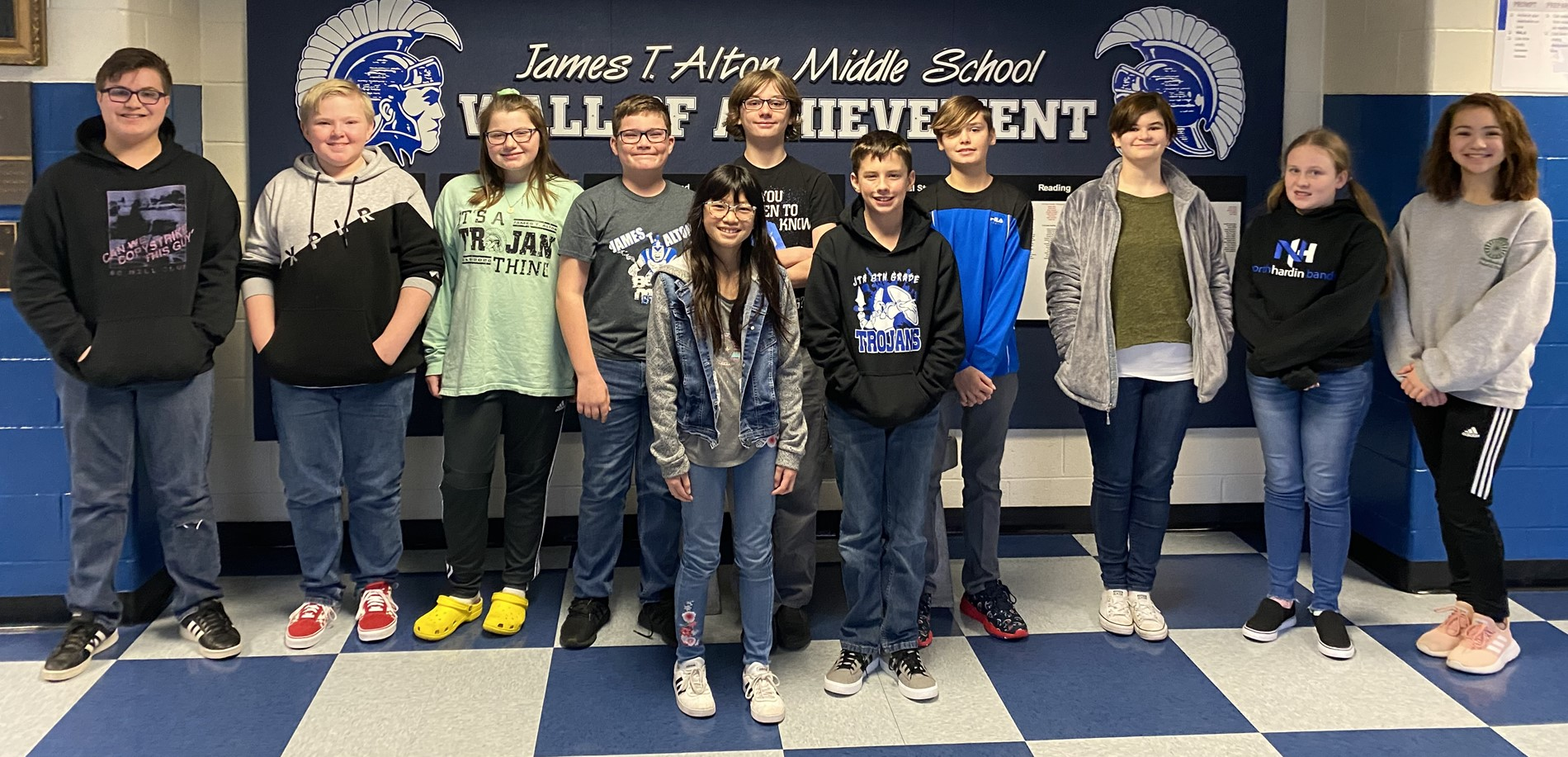 JTA 2020 All-District Band Members