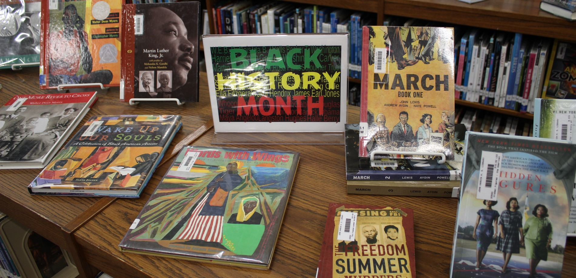 Highlighting Black History  in the Library