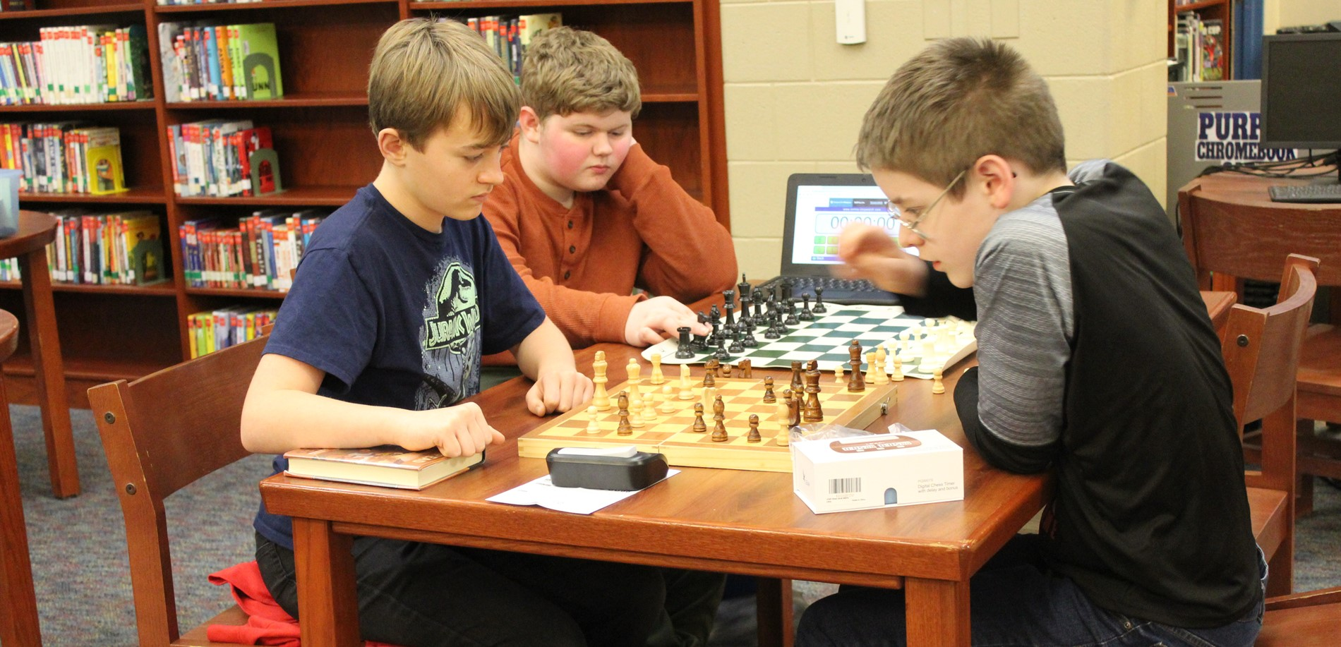 North Middle Chess Club