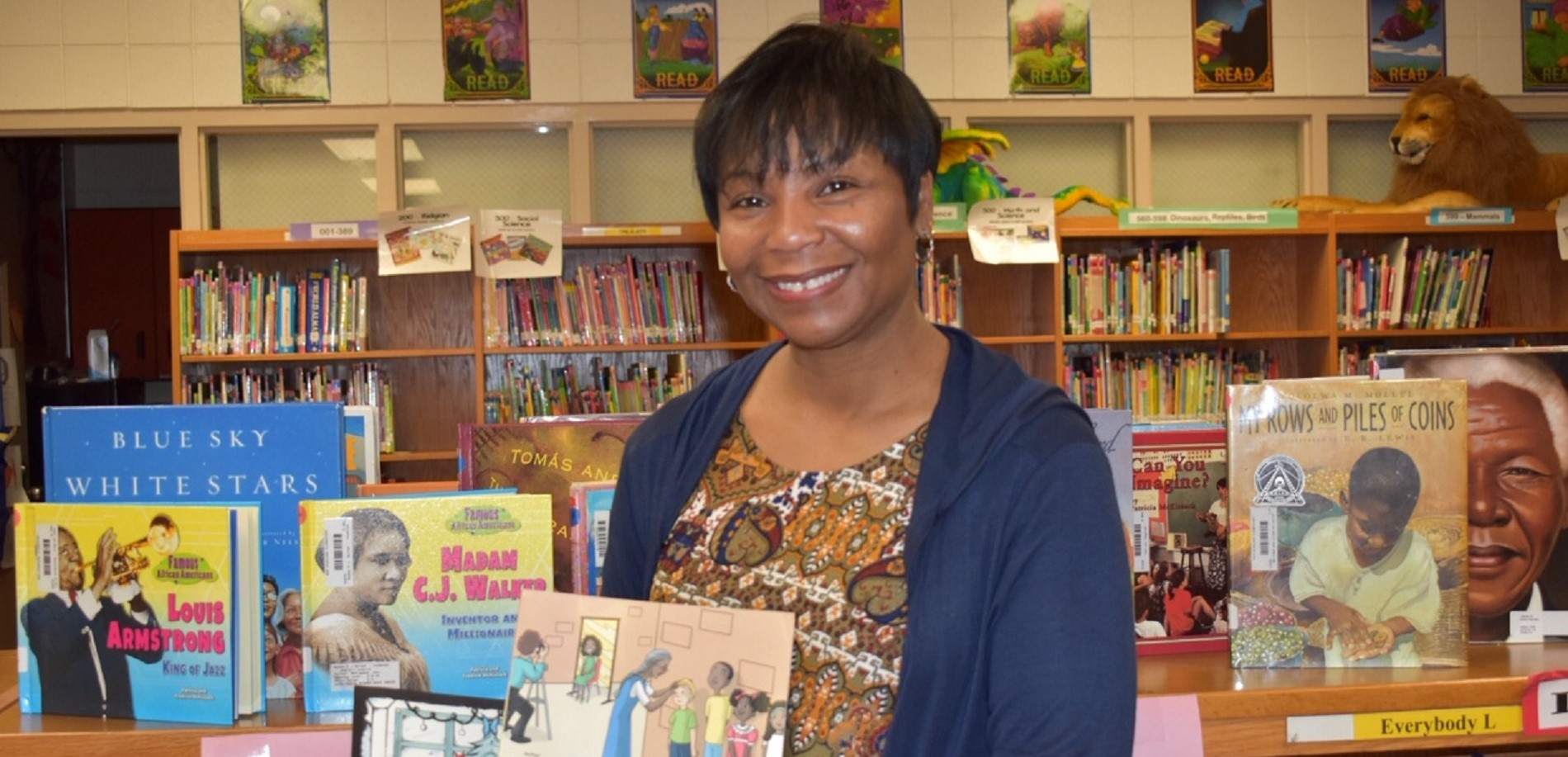 Author, Anetta Keys visits NHES