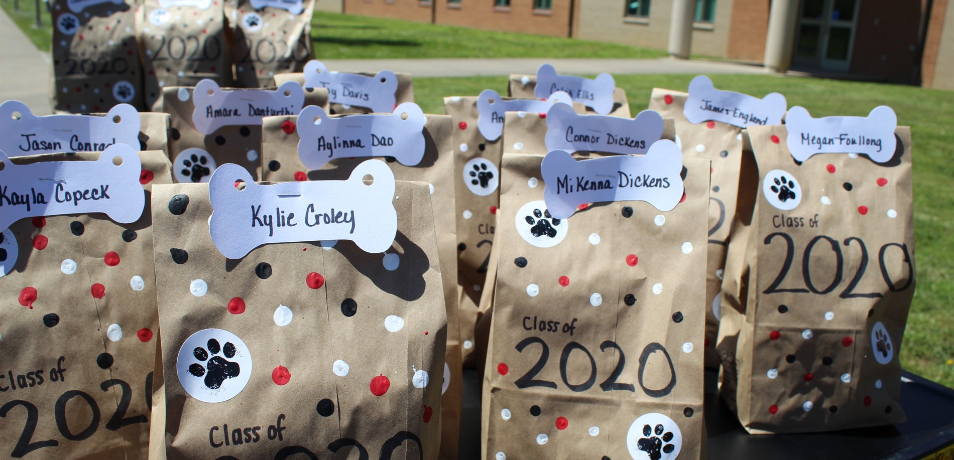 Senior Treat Bags Ready for Pickup