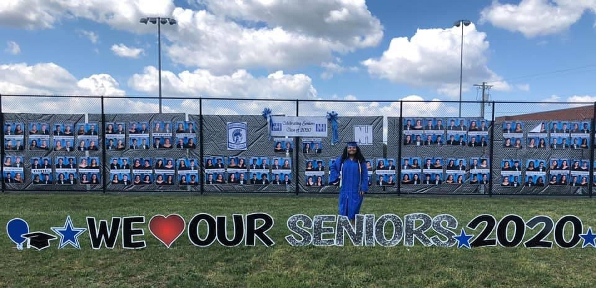 Our Wall of Seniors-Class of 2020!