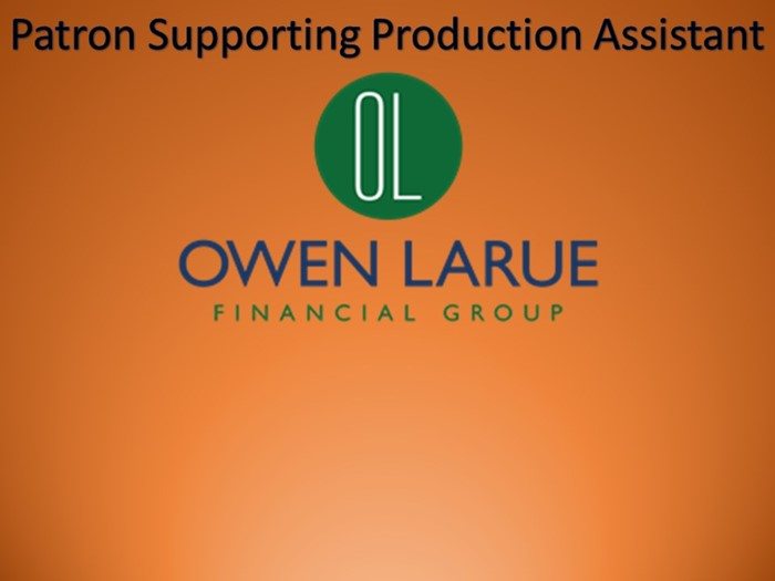 Thanks to Owen LaRue Financial Group for their Sponsorship!