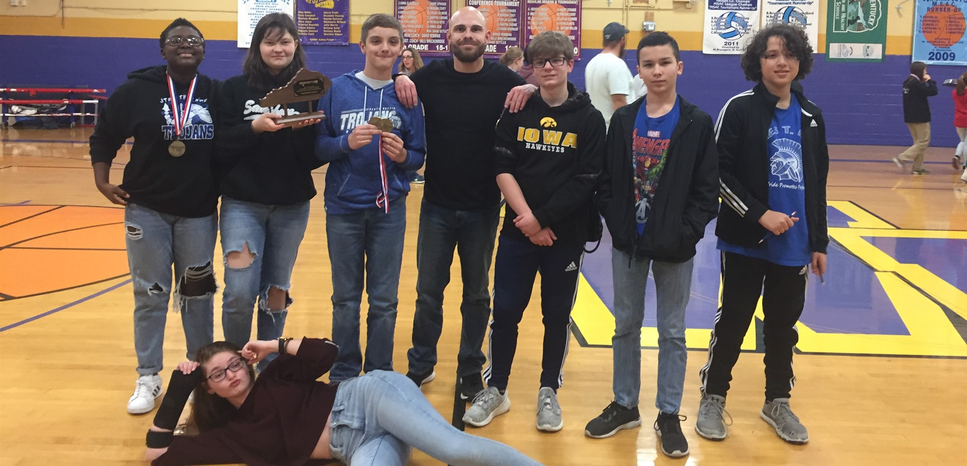 JTA Academic Team placed 4th at Region Governors Cup