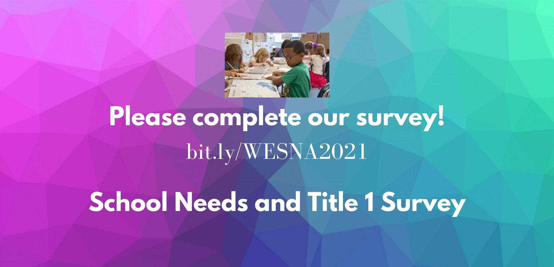 School Needs and Title 1 Survey
