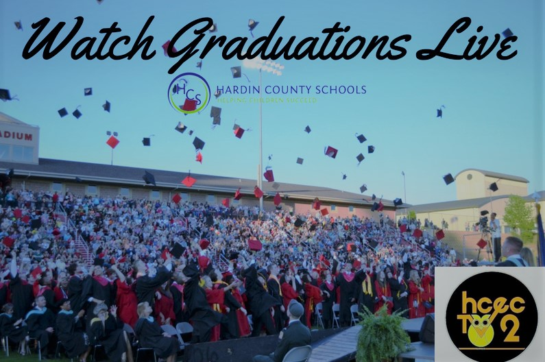 live stream graduation graphic 2018