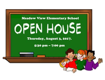Open House August 3, 2017