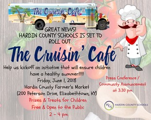 THE CRUISIN' CAFE COMMUNITY KICKOFF EVENT linked image