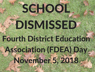 SCHOOL DISMISSED - FDEA Day linked image