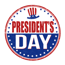 NO SCHOOL -- President's Day linked image