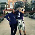 Me with Willie the WIldcat