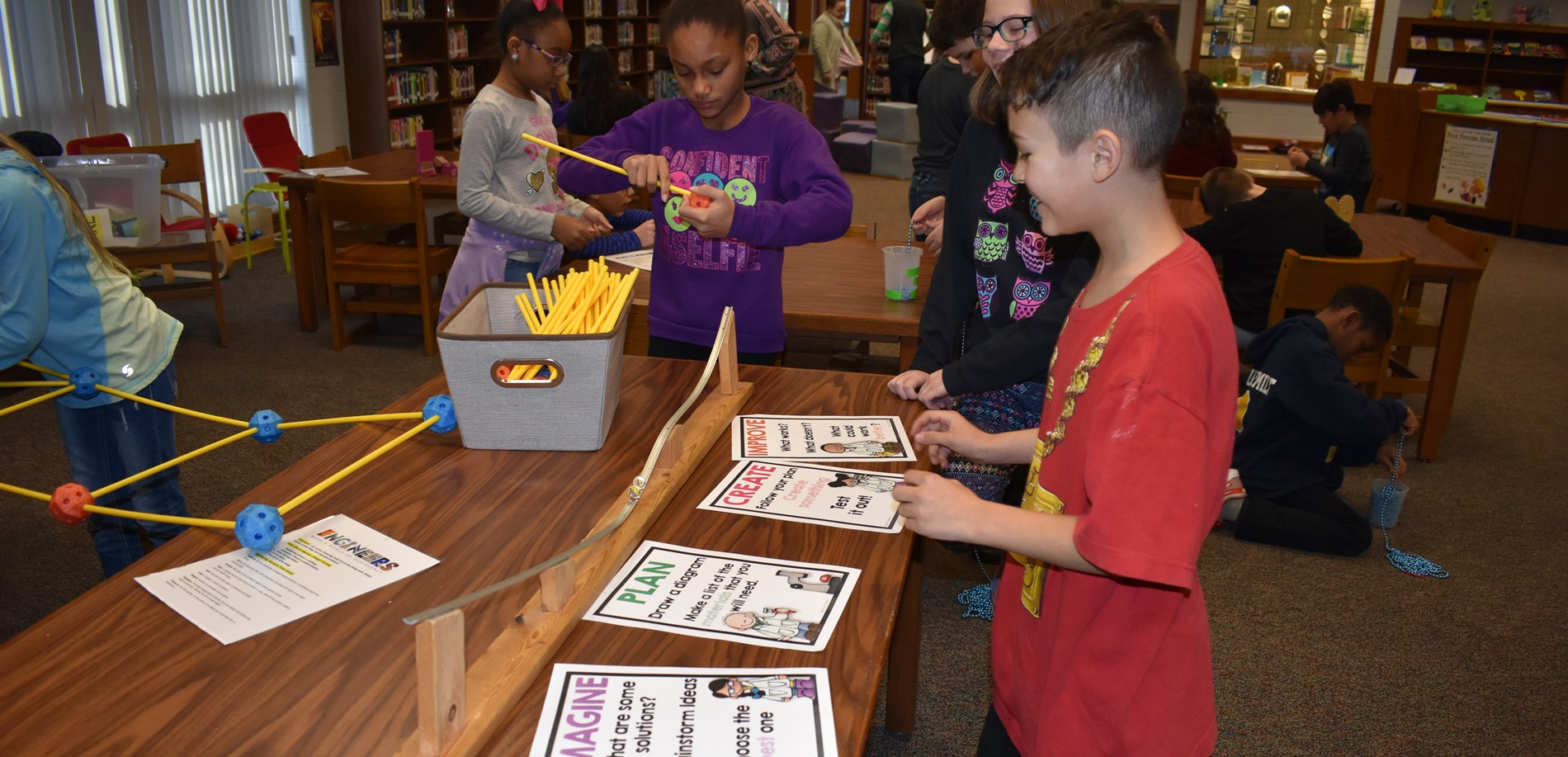 4th Graders explore with Wonders on Wheels