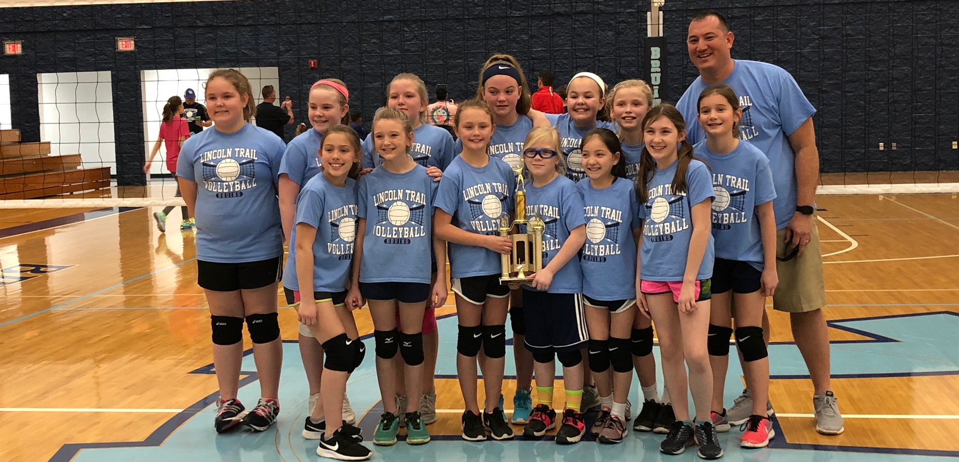 LTES Volleyball Champions