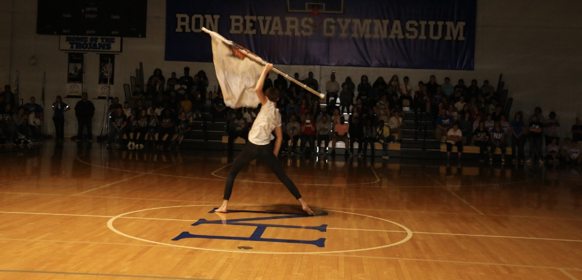 Talent Show flag performance