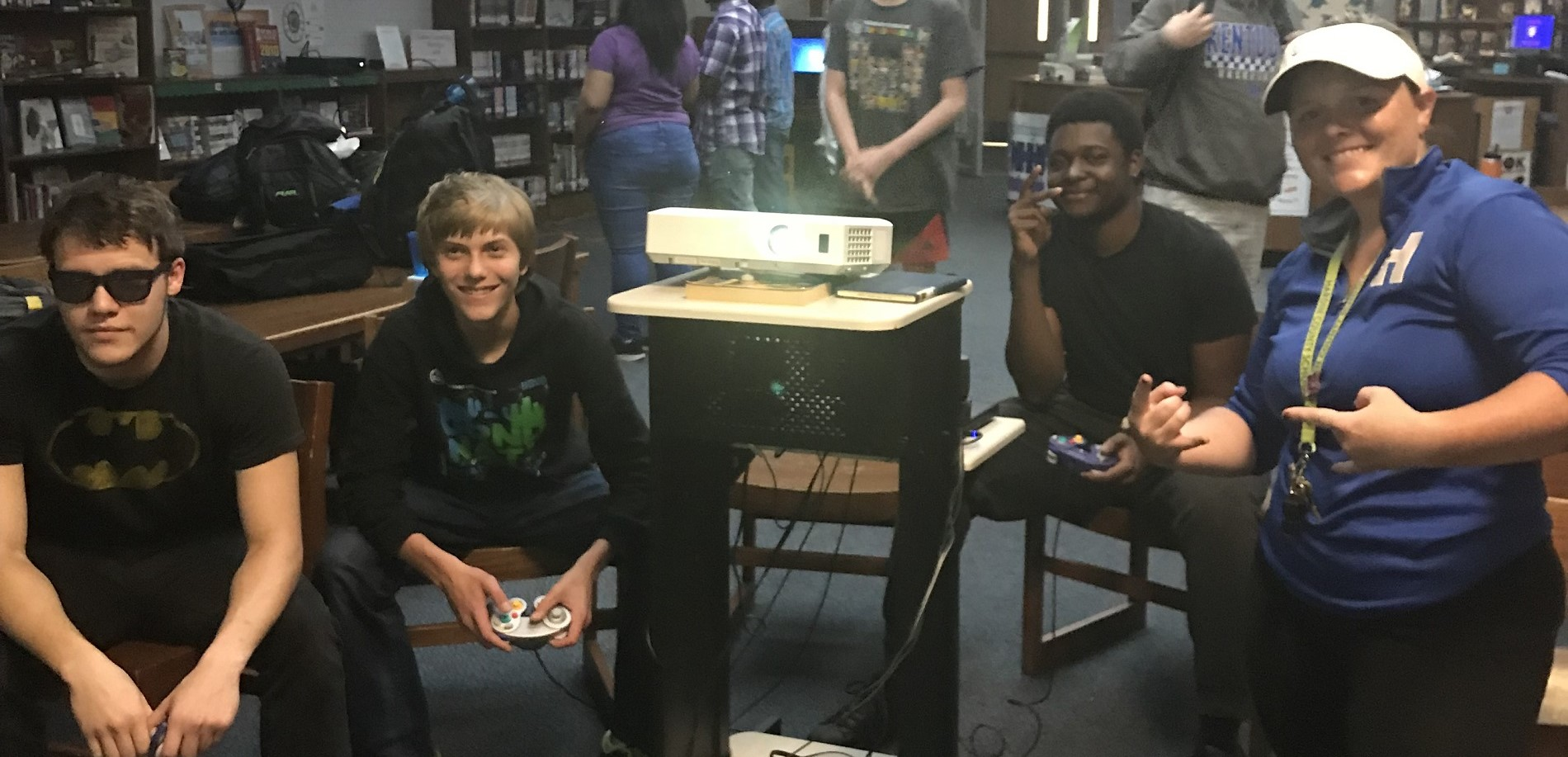 Video Game Tourney Final Four Contestants!