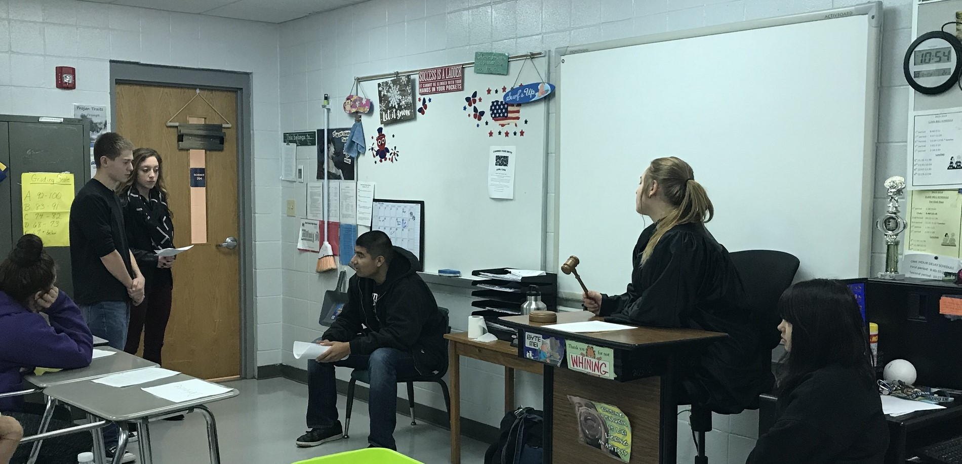 Mock Trial with Ms. Thompson