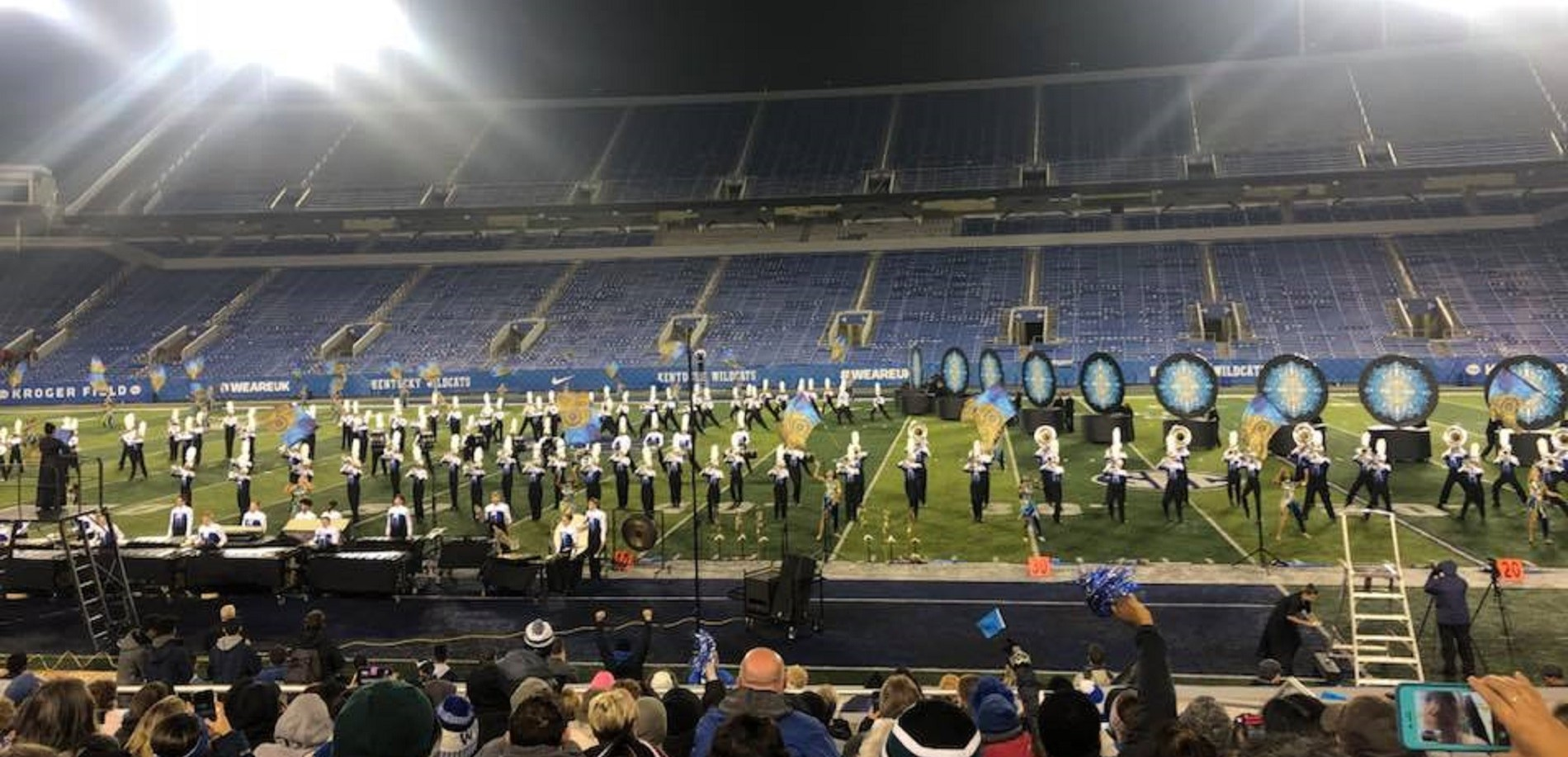 Congratulations to the North Hardin High School marching band!  It finished 2nd in the Class 5A State Championships!