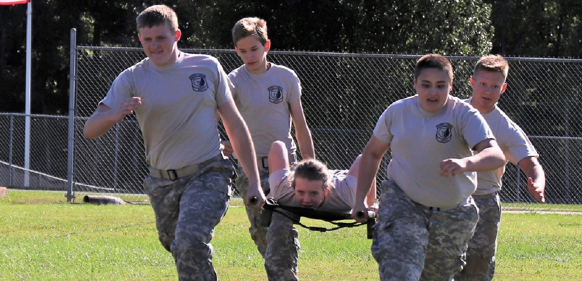 The Central Hardin High School Bruin JROTC Raider team recently competed in and won a meet in Ohio County against the best teams in the state.