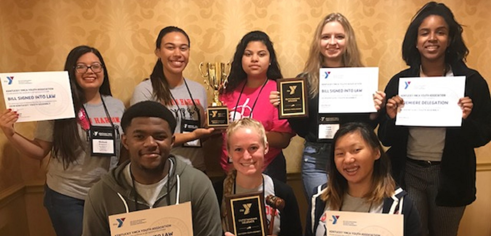 JHHS students win BEST DELEGATION at state KYA conference