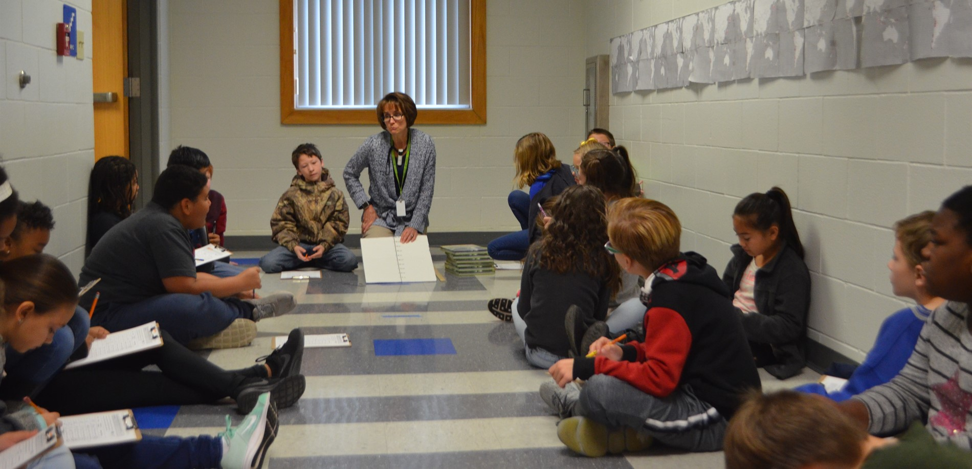 Vine Grove Elementary School students participated in a recent activity.