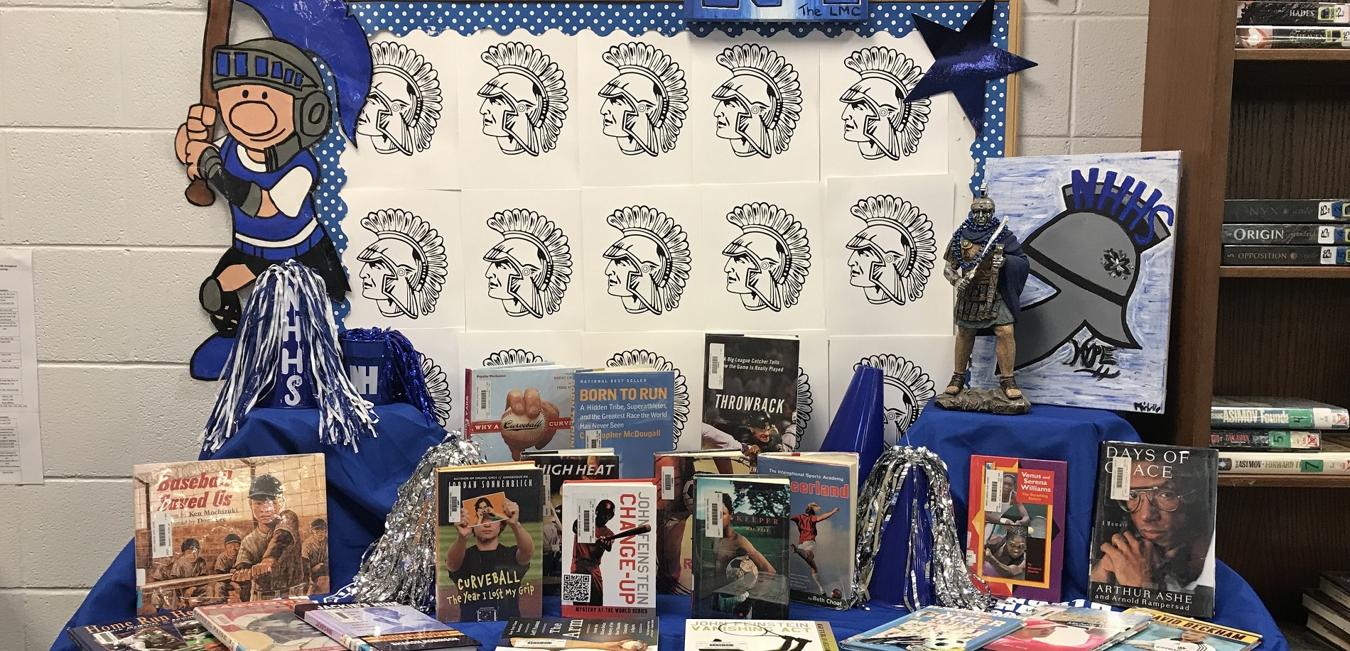 Library Spring Sports Book Display