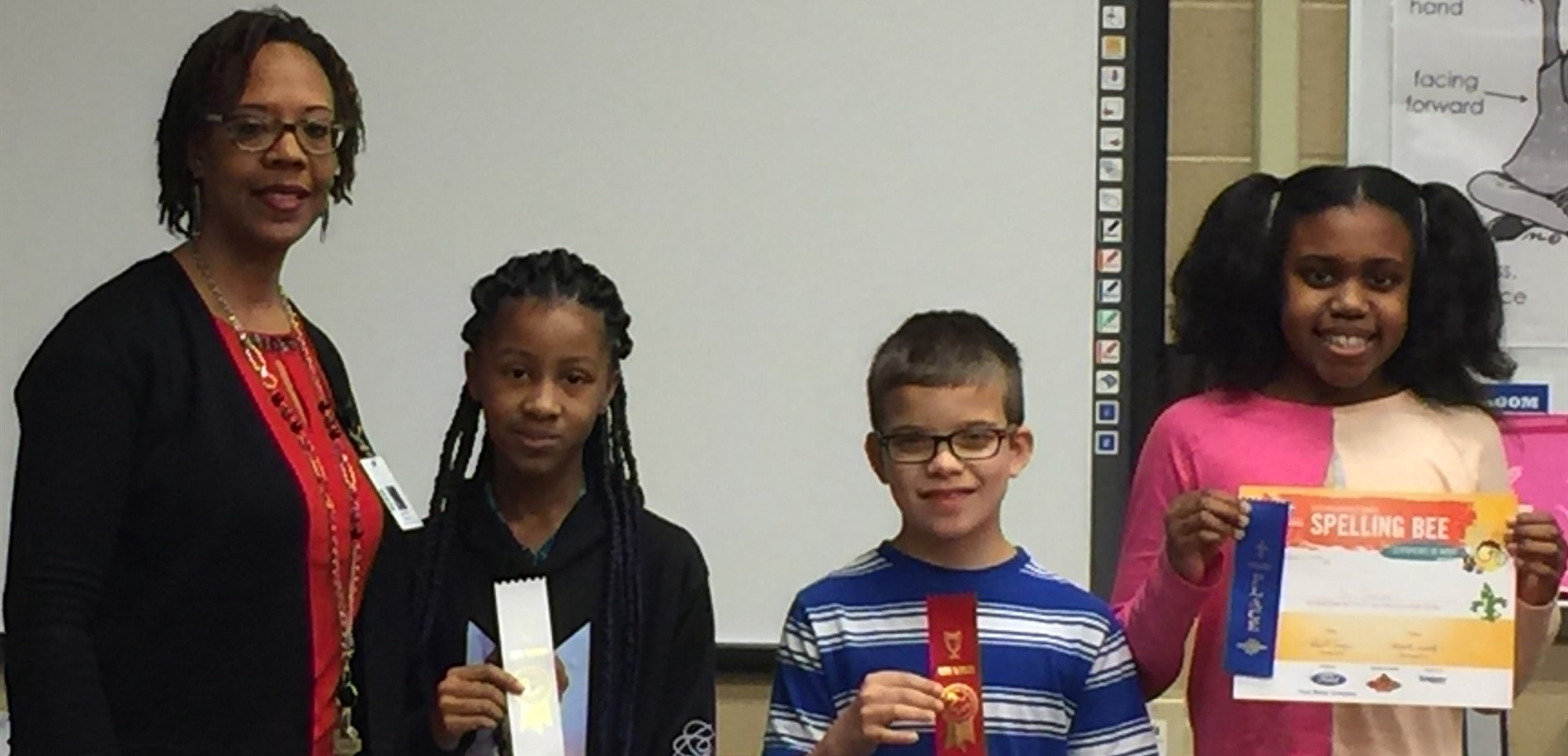 2018-19 Spelling Bee Winners at Radcliff Elementary School