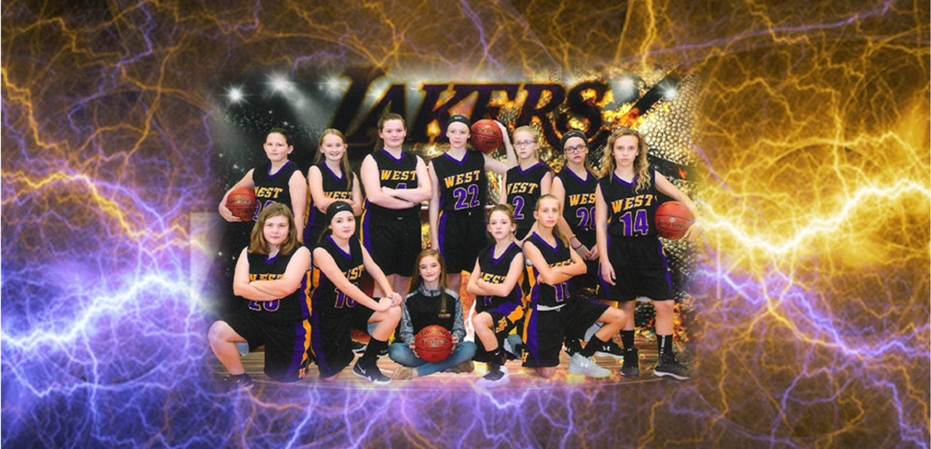 2018 WHMS 7th Grade Girls Basketbal - Image Courtesy: Capture Creative Images