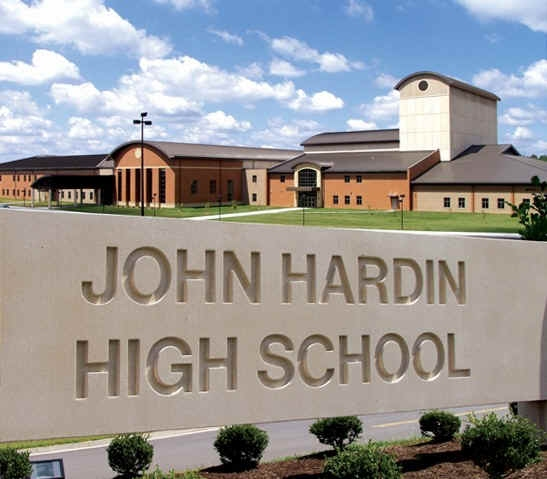 John Hardin High School - graphic created by Rich Griendling