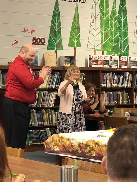 Ms. Newton's Retirement Celebration